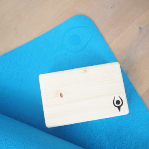 Eternity Wood Yoga Block