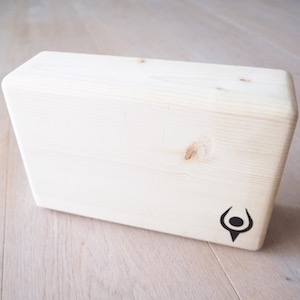 Eternity Wood Yoga Block, Bloc de yoga en bois