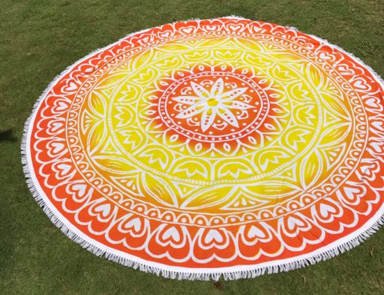 Magic mandala towel