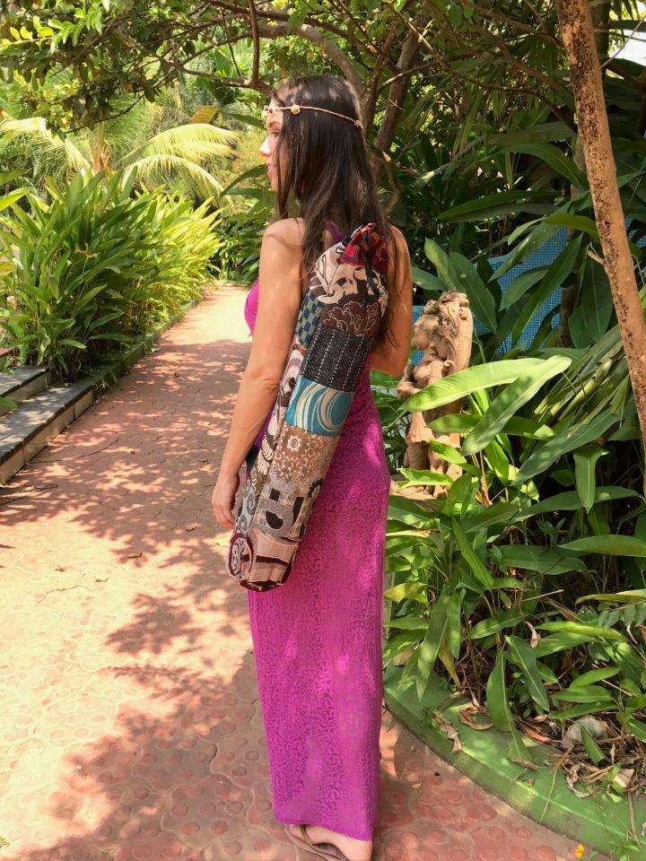Chic Rainbow Mat bag, Sac de yoga Chic Rainbow